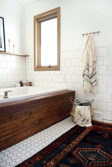 small ceramic floor tile