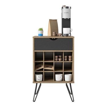 wine bottle storage stand