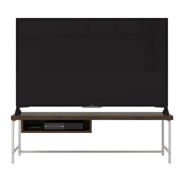 minimalist tv stand