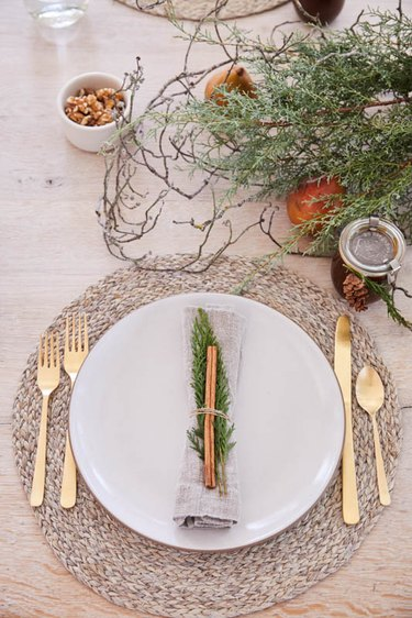 fall-inspired table