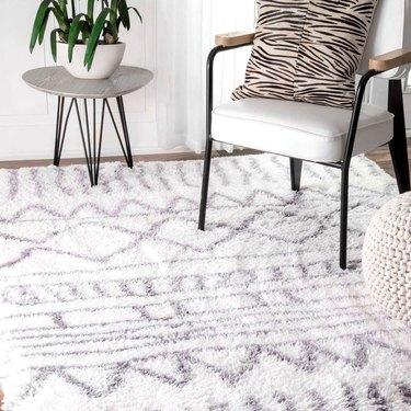 moroccan shag rug