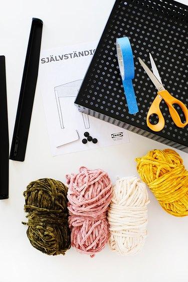 IKEA Sjalvastandig Stool Makeover