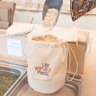 Life Without Plastic's Organic Cotton Bulk Bag