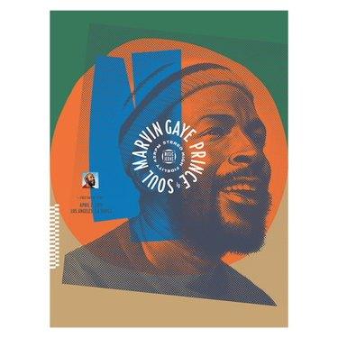 Marvin Gaye Screen Printed Poster, $23.95