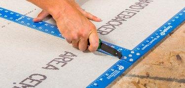 scoring cementboard