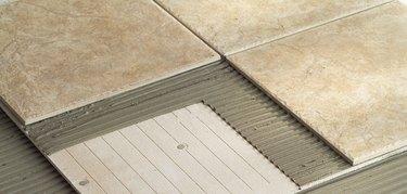 ceramic tile on cementboard