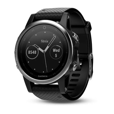 black GPS watch