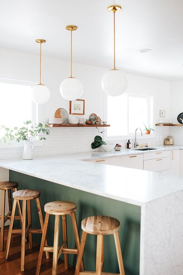 midcentury inspired kitchen