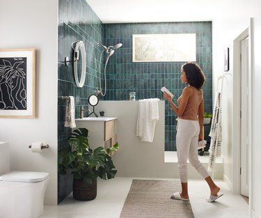 I Tried the Moen Aromatherapy Shower to See If It Would Make Wash Day Better