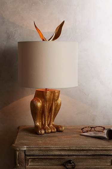 animal-inspired lamp