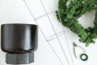 Tomato Cage Christmas Trees supplies