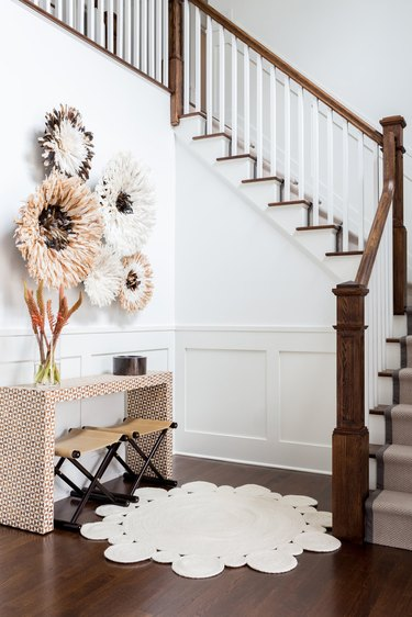 Chango & Co. entryway with staircase