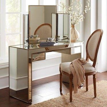 pier 1 mirrored vanity