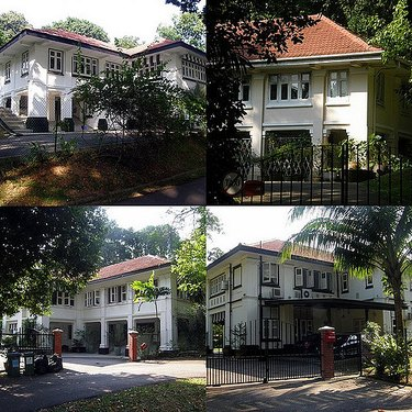 Black & White Bungalows Singapore