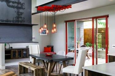allmodern industrial dining room
