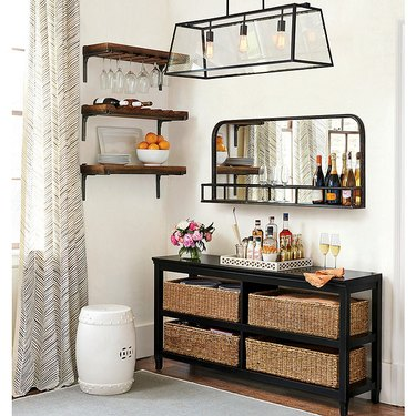 Ballard Designs Bar Shelf