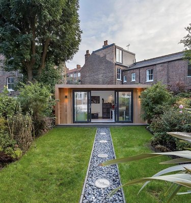 Home Office Shed in Garden in London