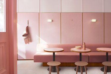 tonal pink restauraunt Tone On Tone Paint Ideas