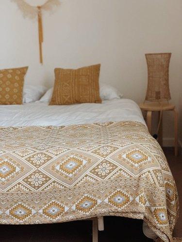 Oddbird Co. Handwoven Ottoman Blanket