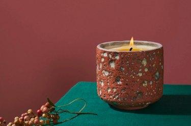 LGS Studio Tephra Candle, $124