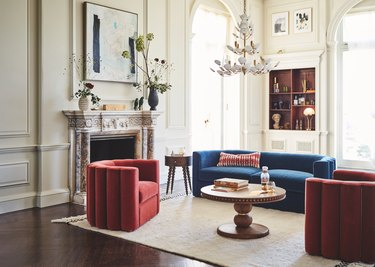 sitting room with Soho Home furniture