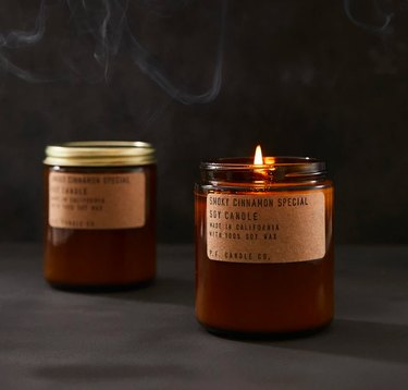 P.F. Candle Co. Smoky Cinnamon Special, $20