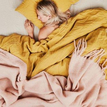 Hawkins New York Simple Linen Bedding