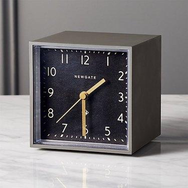 CB2 Newgate Alarm Clock