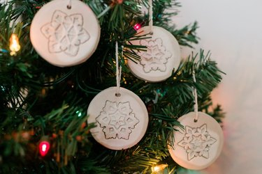 Air dry clay ornaments