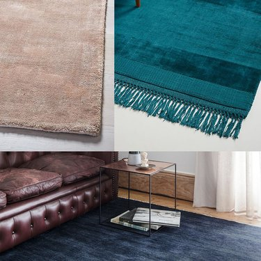 shiny rug trend