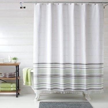 Better Homes & Gardens Turkish Stripe Shower Curtain, $18.48