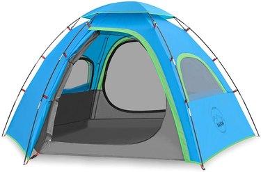 multi-door tent