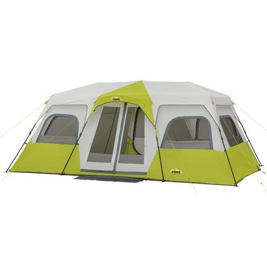 cabin-style tent