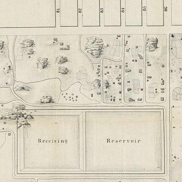 map of Seneca Village