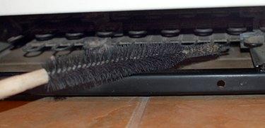 A refrigerator coil brush.