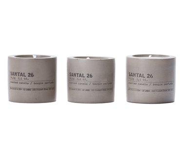 Nordstrom Anniversary Sale Le Labo Santal 26 Set of 3 Concrete Votives