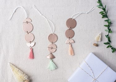 DIY Rose Gold Ornaments