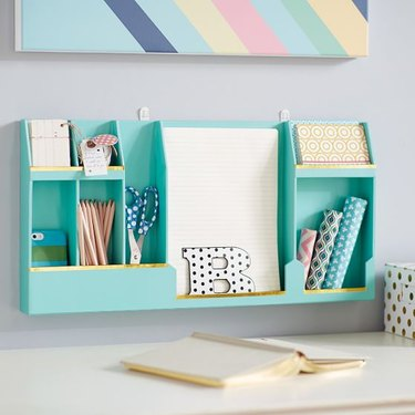 pb teen paper wall organizer