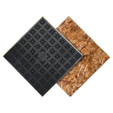 Floating subfloor panels
