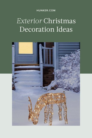 Exterior Christmas Decorations Ideas and Inspiration