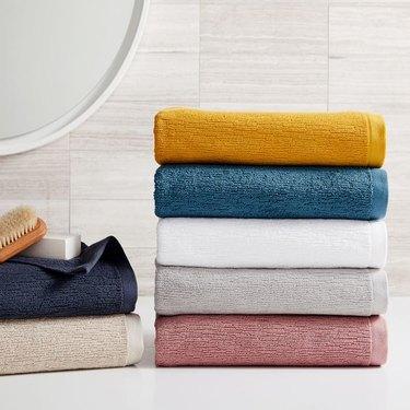 West Elm Organic Textured Towels