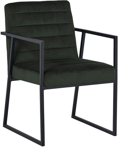 Rivet Allie Velvet Chair