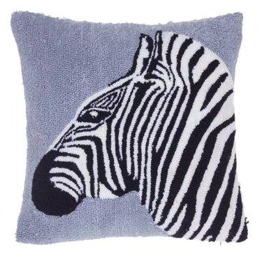 14 Karat Home Safari Zebra Throw Pillow, $26.99