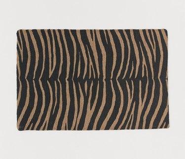 H&M Jute Zebra Print Bath Mat, $24.99