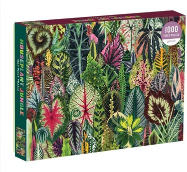 Galison Houseplant Jungle 1000-Piece Puzzle