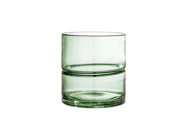 AllModern Cassella Transparent Glass Table Vase