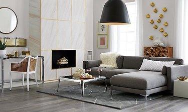 modern pendant living room lighting