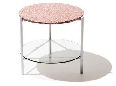industry west terrazzo side table