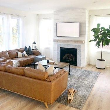 Article Timber Sofa