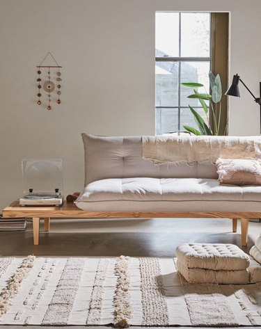 Urban Outfitters Reid Side Table Convertible Sofa